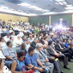 Ferroviários lotaram o auditório da extinta RFFSA