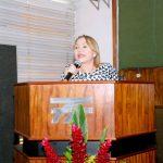 Deputada Gorete Pereira enalteceu a luta dos ferroviários