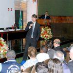O presidente da REFER, Marco André Marques Ferreira, iniciou o encontro esclarecendo sobre a situação dos Planos da RFFSA com o recebimento da dívida e sobre os desafios para o recebimento da dívida da CBTU